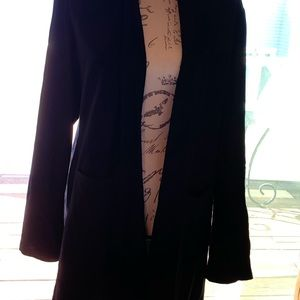 Eileen Fisher sweater/jacket size large.